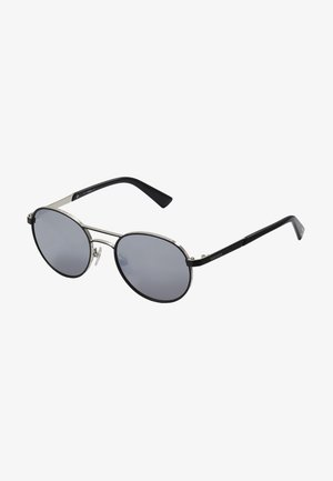 DL02655217C - Sunglasses - matte gunmetal/ green