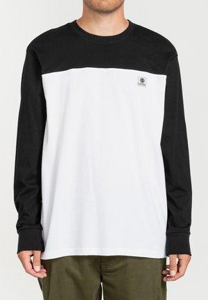 Long sleeved top - flint black
