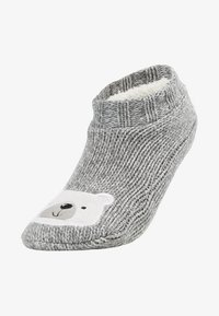 Even&Odd - BEAR SLIPPERS - Ponožky - grey - 1