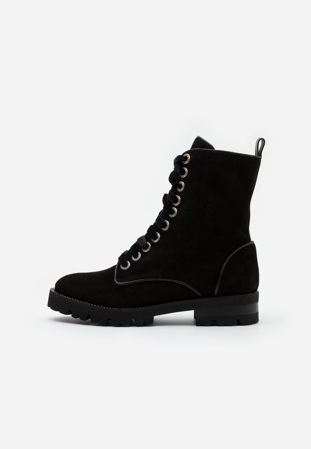 RENEE - Bottines à plateau - nero