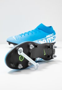 Nike Performance - MERCURIAL 7 ACADEMY SG-PRO AC - Screw-in stud football boots - blue hero/white/obsidian - 5