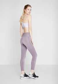 adidas Performance - Legginsy - purple - 0