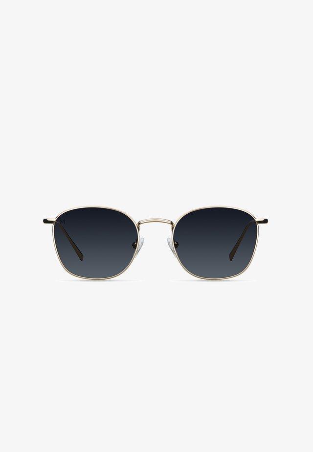 DJERBA - Sunglasses - gold carbon