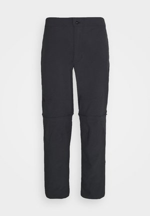 PARAMOUNT ACTIVE CONVERTIBLE PANT - Spodnie materiałowe - asphalt grey