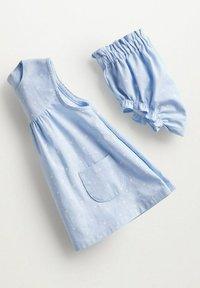 Mango - MET BROEKJE - Day dress - hemelsblauw - 2