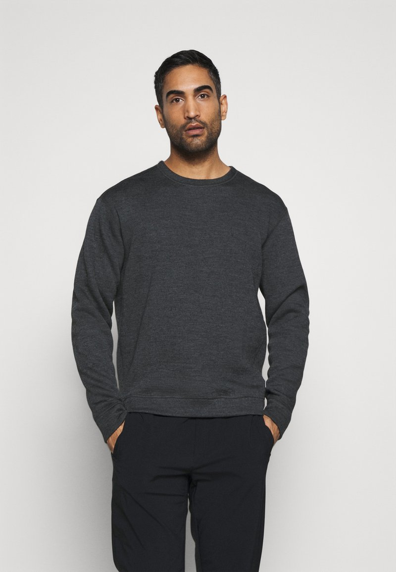 Houdini - ALTO CREW - Sweater - dark grey melange