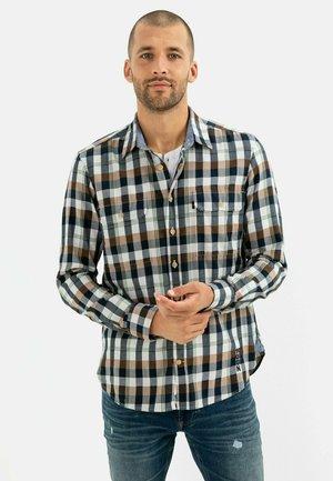Shirt - warm brown