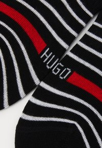 HUGO - LOW CUT 2 PACK - Ponožky - black - 1