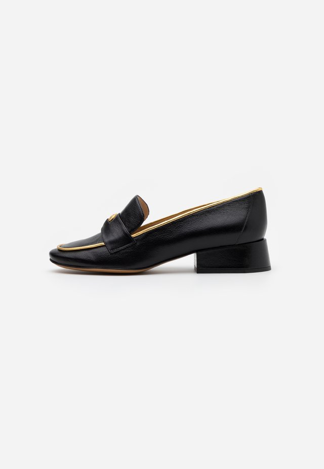 MANATHAN - Slipper - nero/oro