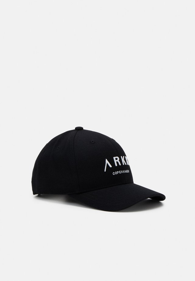 UNISEX - Cap - black/white