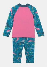 Frugi - SUN SAFE SET WHALES - Swimsuit - blue - 1