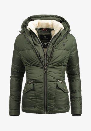 MEGAN - Winter jacket - olive green