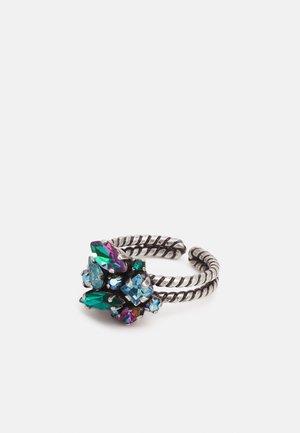 ABEGAIL - Ring - blue/green/dark rose