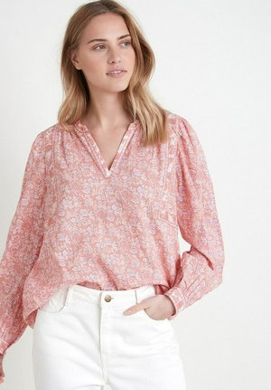 Blouse - rose rouge
