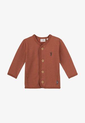 Sweater met rits - braun