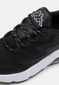 Kappa - YAKA UNISEX - Sports shoes - black/white - 5