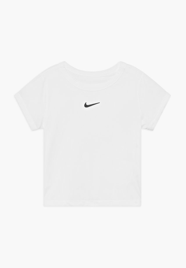 DRY  - Basic T-shirt - white/black