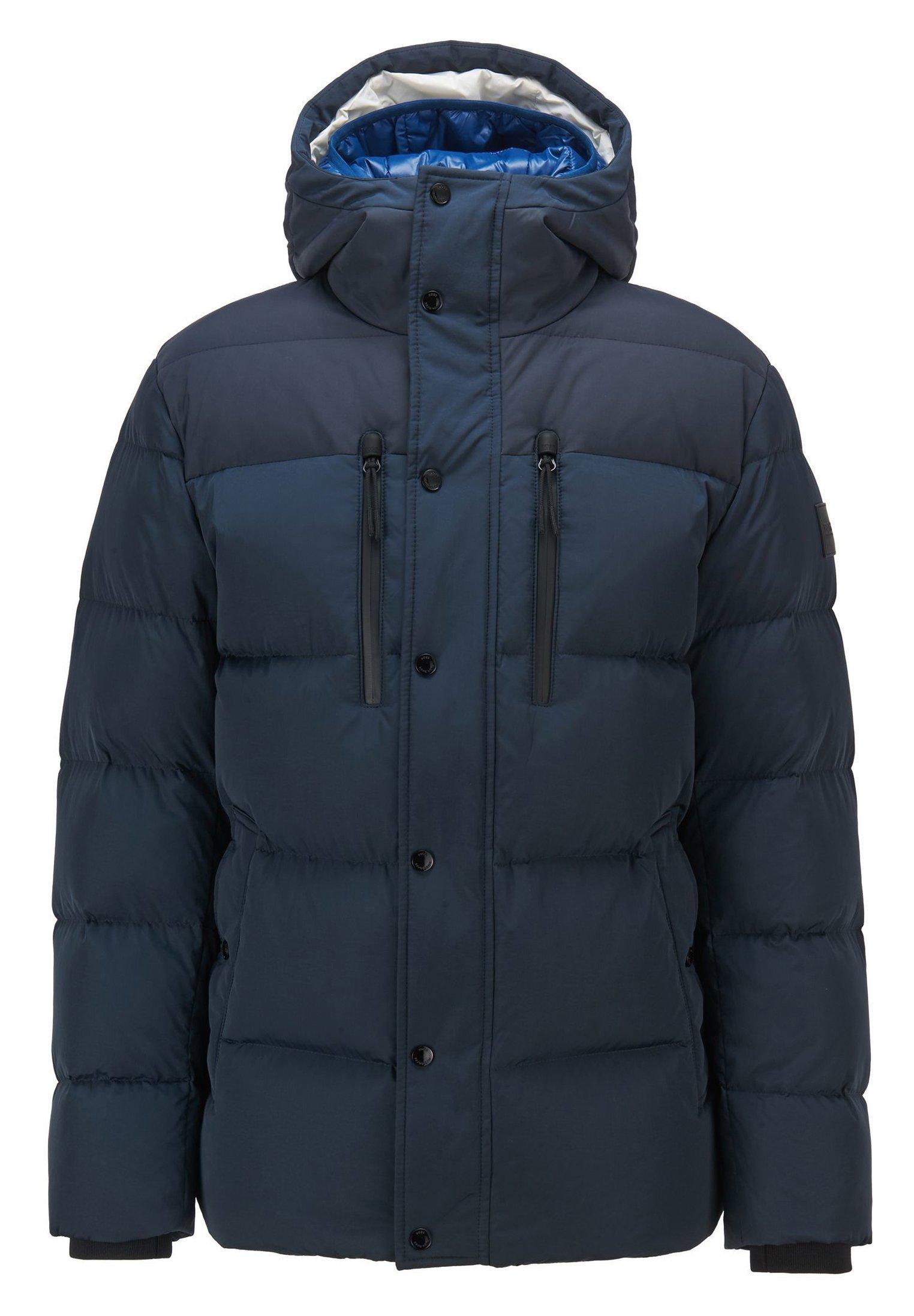 DOLERIS Gewatteerde jas dark blue