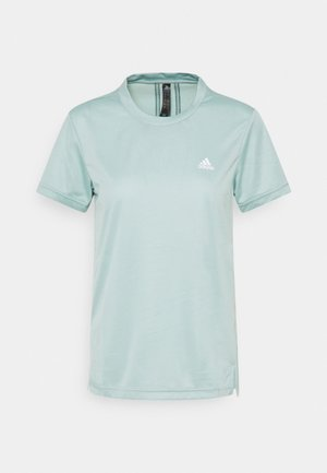 Print T-shirt - haze green/wild teal