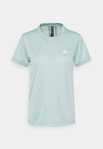 T-shirts med print - haze green/wild teal