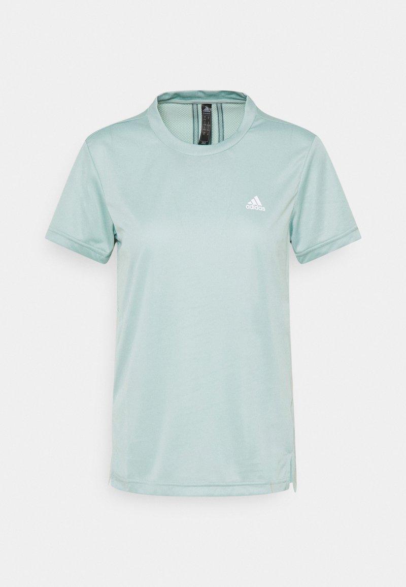 adidas Performance - Print T-shirt - haze green/wild teal