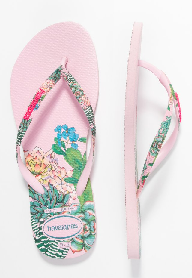 SLIM FIT SENSATION - Chanclas de dedo - crystal rose