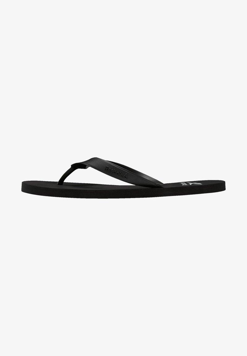 Reebok - CASH FLIP - Sandalias de dedo - black