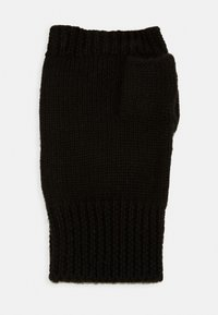 Even&Odd - WOOL - Rukavice bez prstů - black - 1