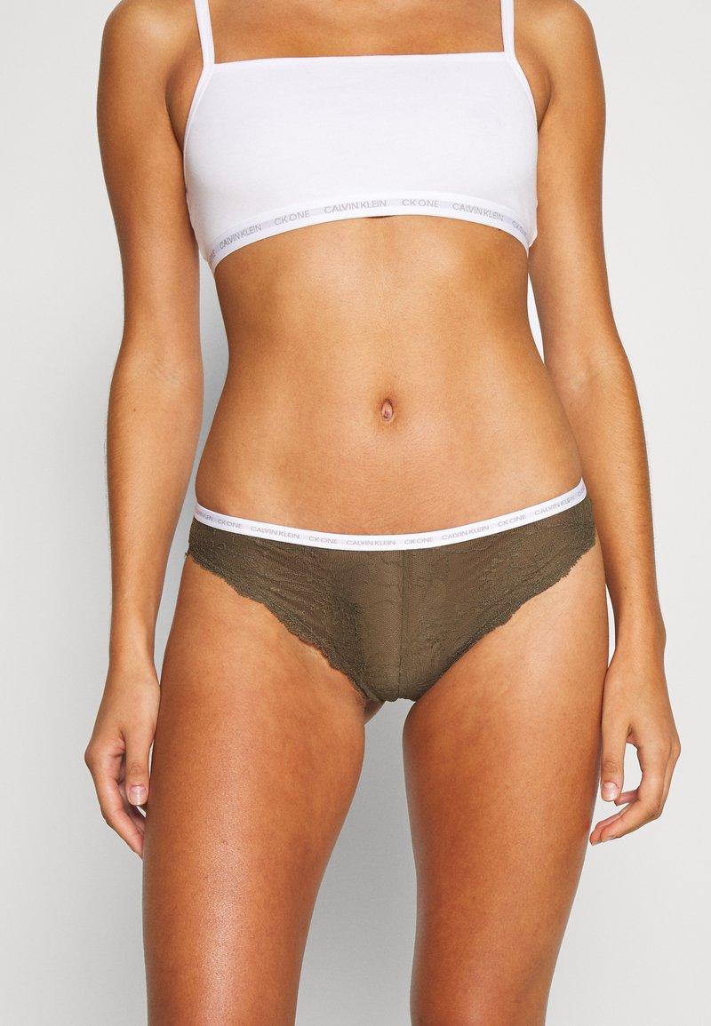 Calvin Klein Underwear - BRAZILIAN - Braguitas - khaki