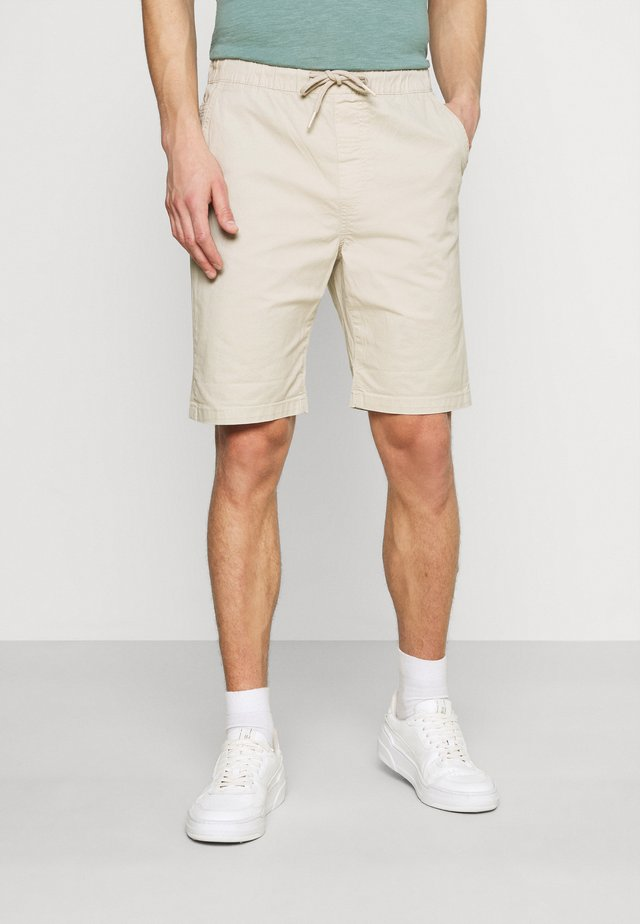 POVL ELASTICATED - Shorts - oatmeal
