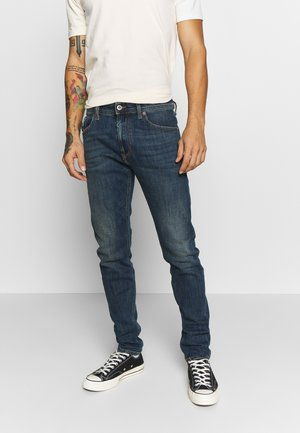 THOMMER-X - Slim fit jeans - dark-blue denim