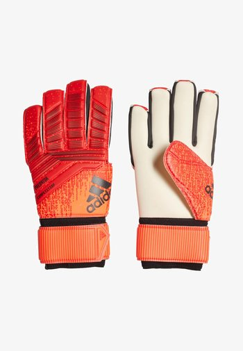 PRED COM - Goalkeeping gloves - red/black