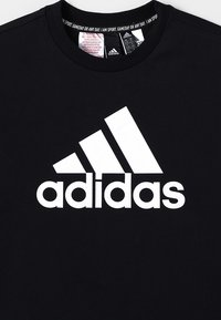 adidas Performance - UNISEX - Camiseta estampada - black/white - 3