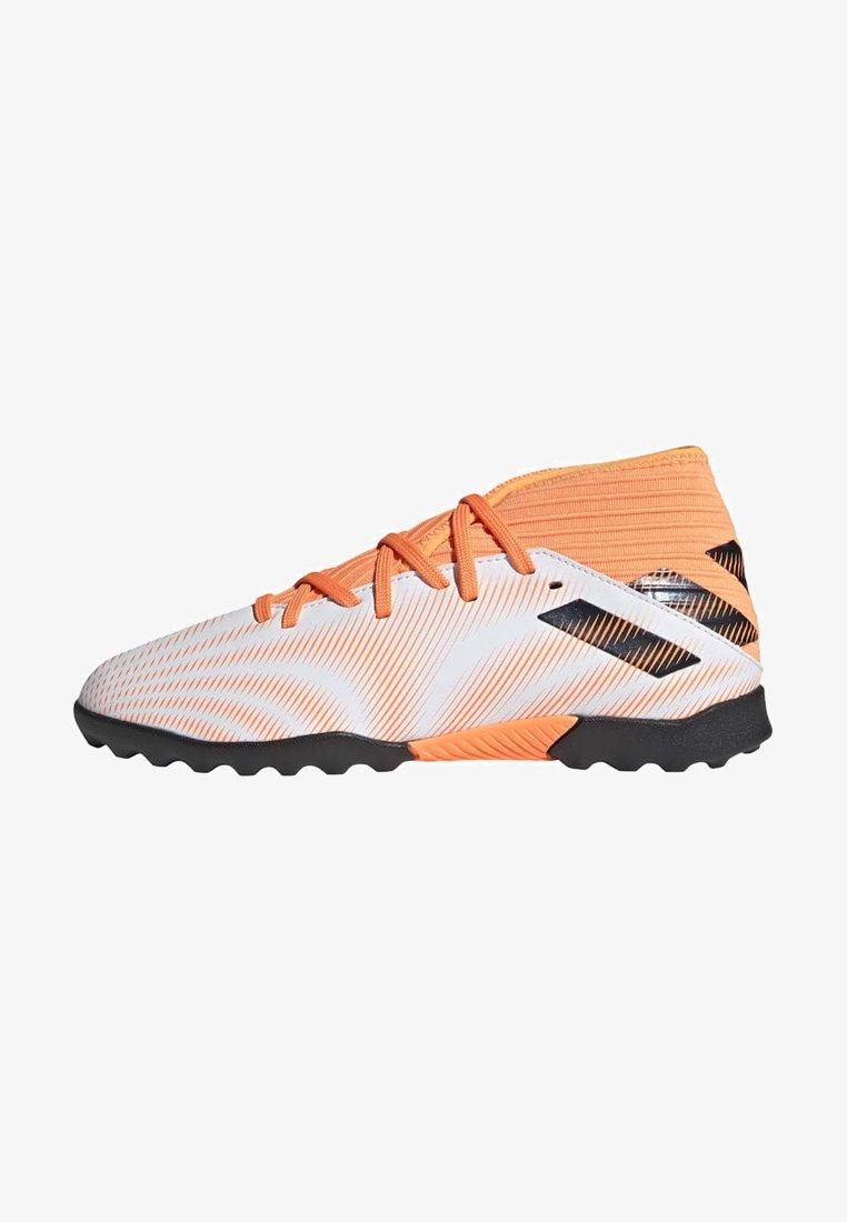 adidas Performance - NEMEZIZ .3 TURF - Astro turf trainers - ftwwht/cblack/scrora