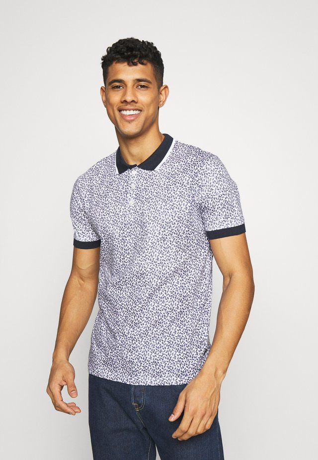 CLIFTON TONAL LEAFT - Polo - navy