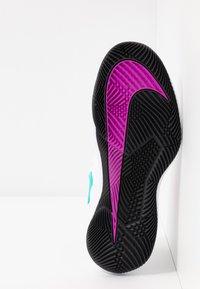 Nike Performance - NIKECOURT AIR ZOOM VAPOR X - Multicourt tennis shoes - summit white/white/black/electro green - 4