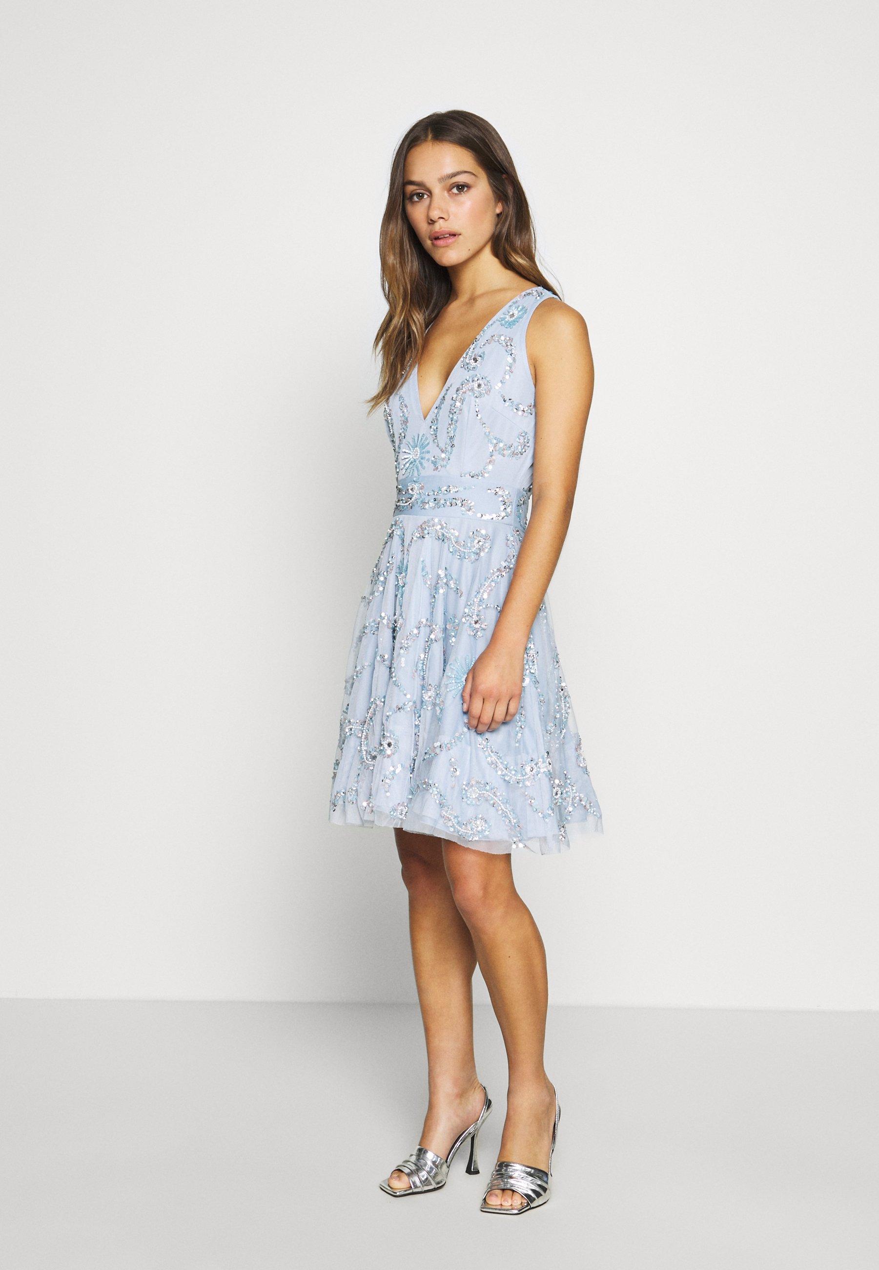 AMARIS DRESS   Cocktailkleid/festliches Kleid   light blue