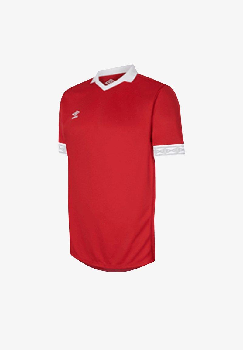 Umbro - Print T-shirt - rotweiss