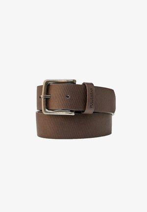 KUNSTLEDER MIT TEXTUR - Belt - light brown
