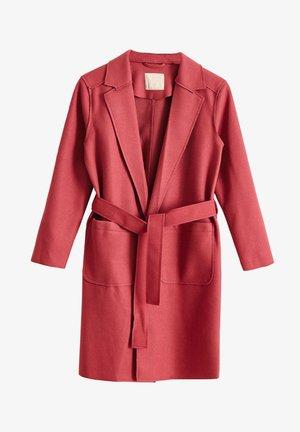 Short coat - pembe