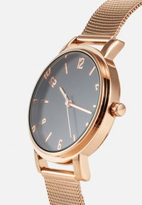 Anna Field - SET - Watch - black/rose gold-coloured - 4