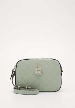 KAMRYN CROSSBODY TOP ZIP - Across body bag - pale jade