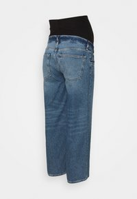 Anna Field MAMA - Straight leg jeans - blue denim - 1