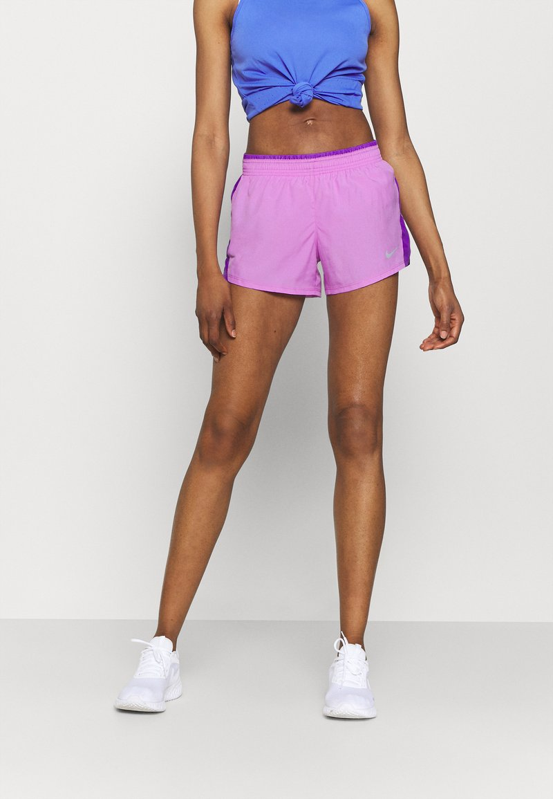 Nike Performance - 10K SHORT - Korte sportsbukser - fuchsia glow/wild berry/wolf grey