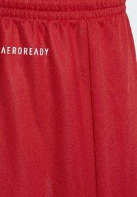 adidas Performance - PARMA 16 AEROREADY PRIMEGREEN SHORTS - Sports shorts - red - 4