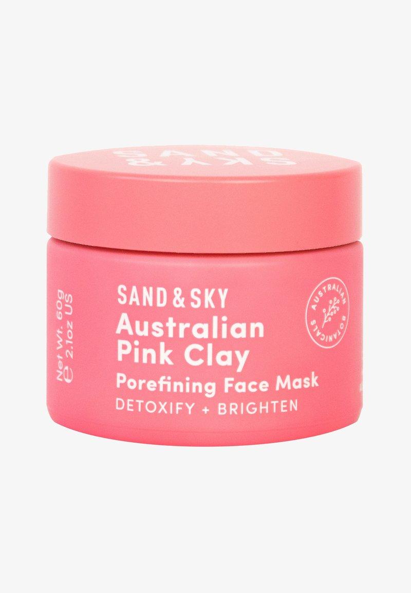 Sand&Sky - AUSTRALIAN PINK CLAY POREFINING FACE MASK 60G - Ansiktsmask - mask