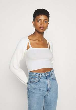 SET - Vest - off-white