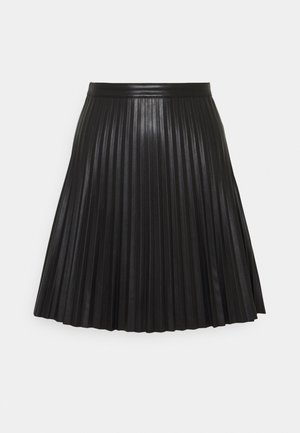 JDYTWIX PLEAT SKIRT - Mini skirt - black