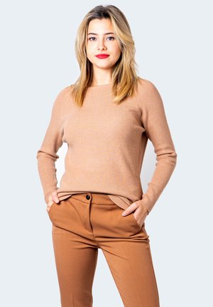 Jumper - dark beige