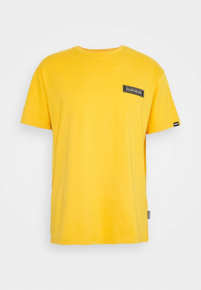 PATCH UNISEX - Triko spotiskem - yellow solar